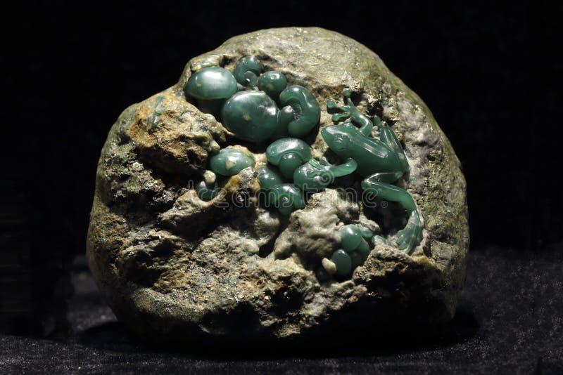 A arte da cinzeladura de pedra fotografia de stock royalty free