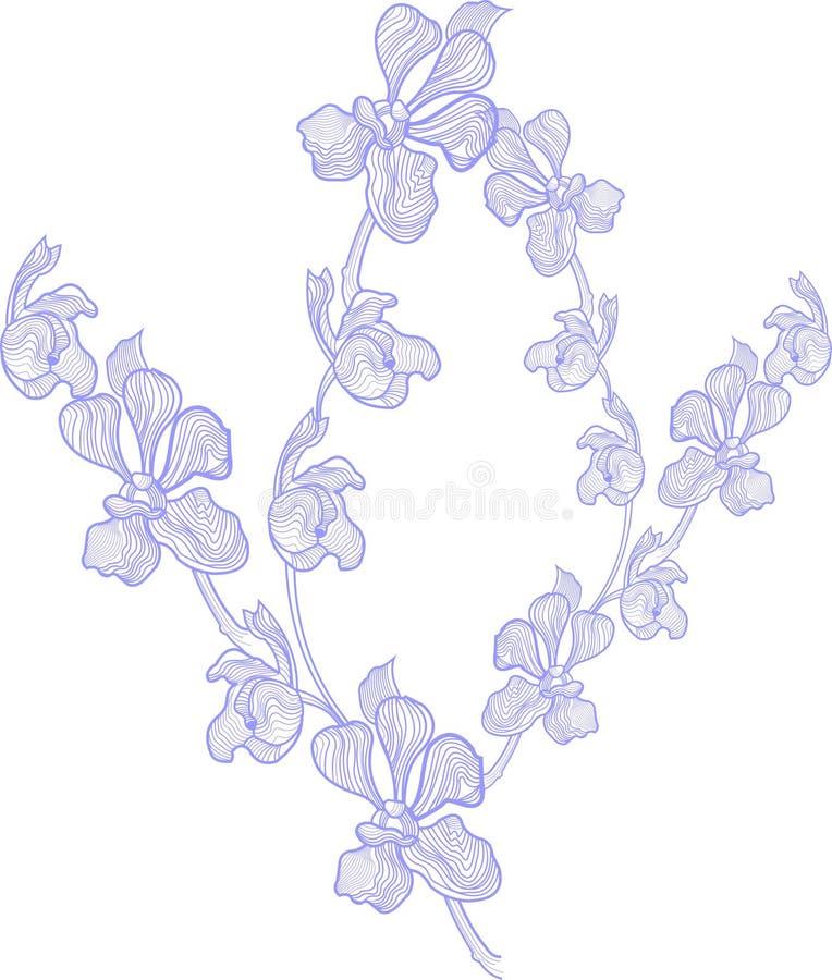 arte da flora ilustração royalty free
