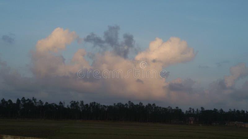 Arte da nuvem foto de stock royalty free