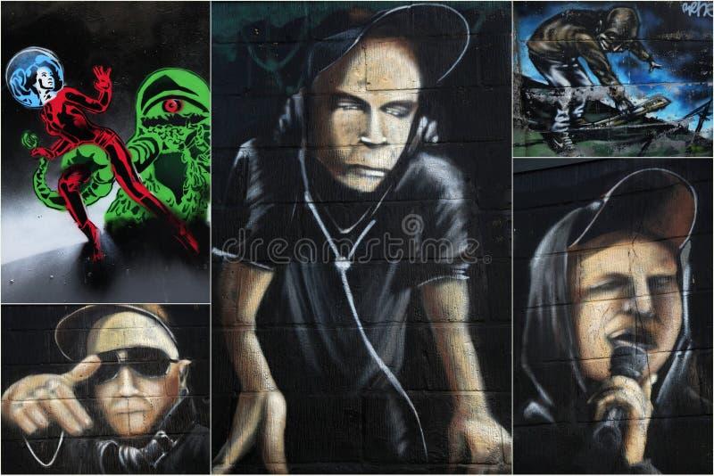 Arte da rua imagem de stock royalty free