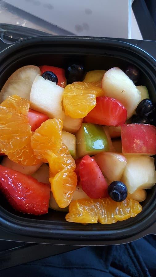Arte da salada de fruto fotografia de stock royalty free
