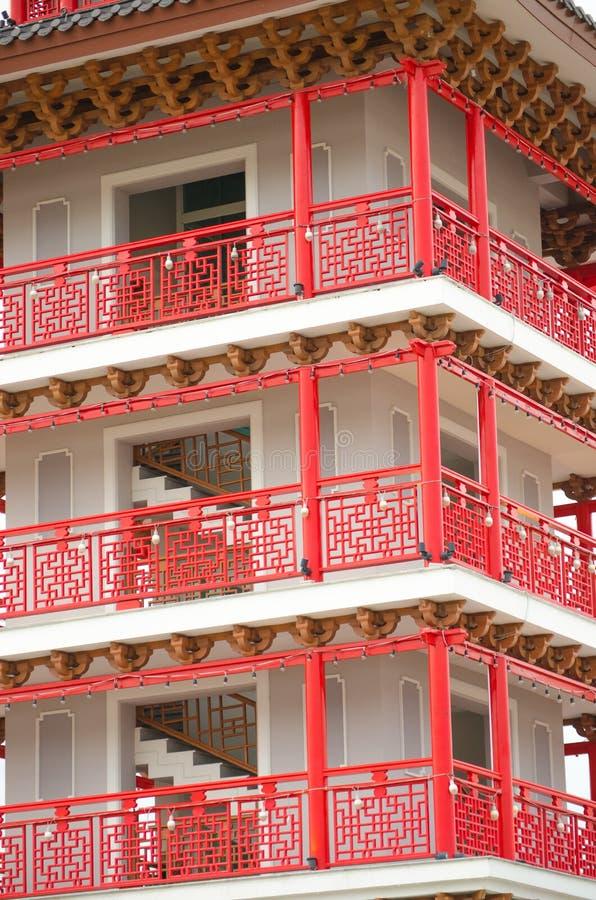 Arte da torre de China foto de stock royalty free