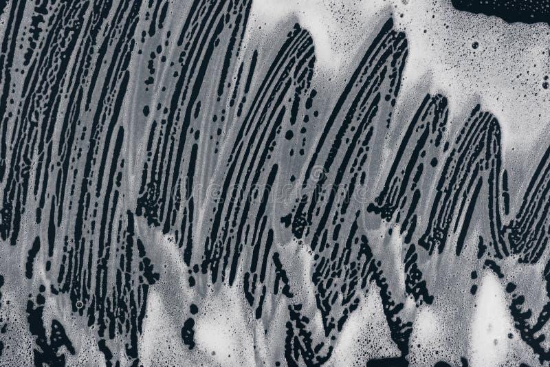 Arte das bolhas de sabão líquido da textura ilustração do vetor