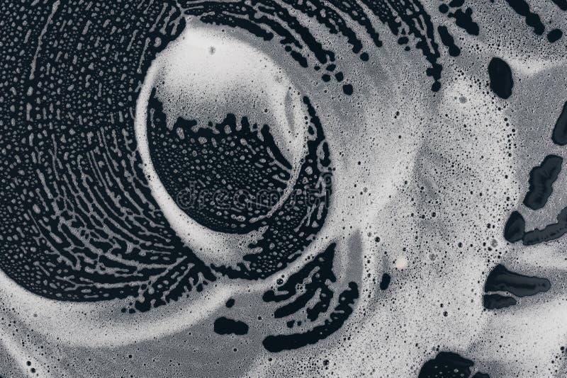 Arte das bolhas de sabão líquido da textura ilustração stock
