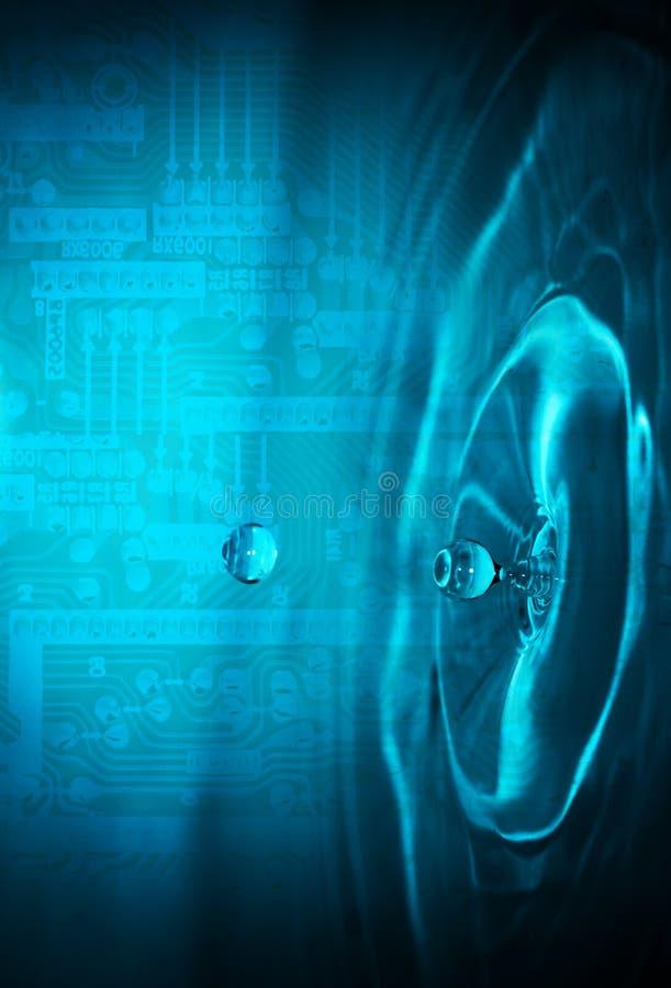 Arte das telecomunicações ilustração do vetor
