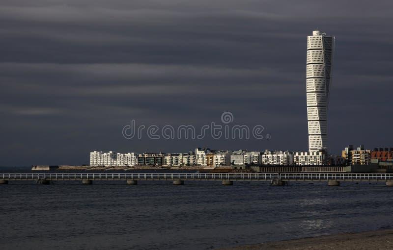 Arte de Calatrava, torso de giro imagens de stock royalty free