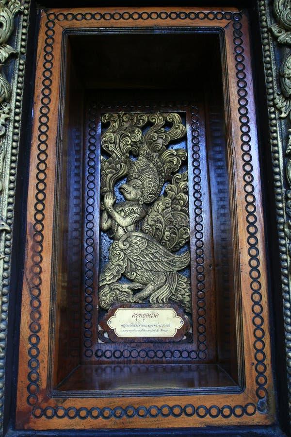 Arte de cinzeladura tailandesa foto de stock