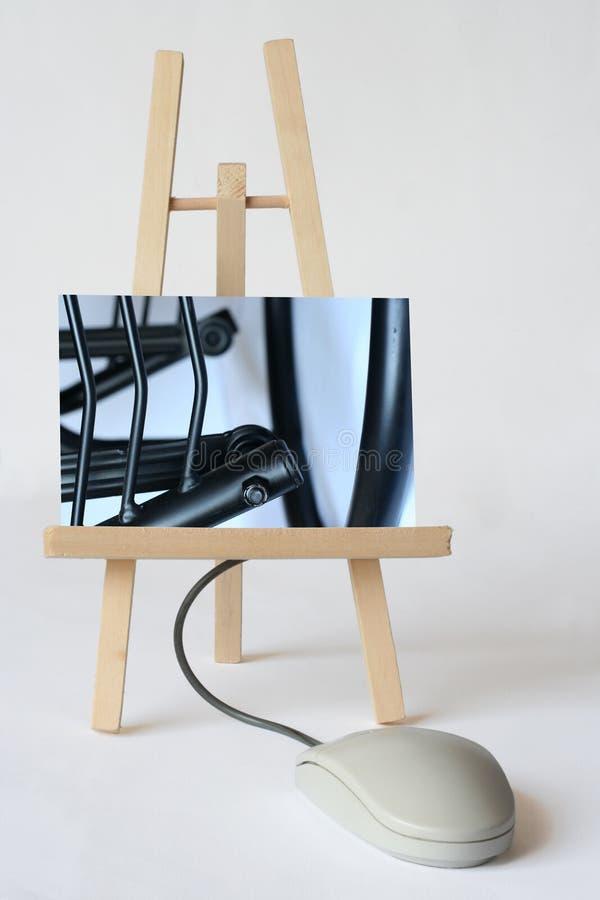 Arte de Digitas imagem de stock