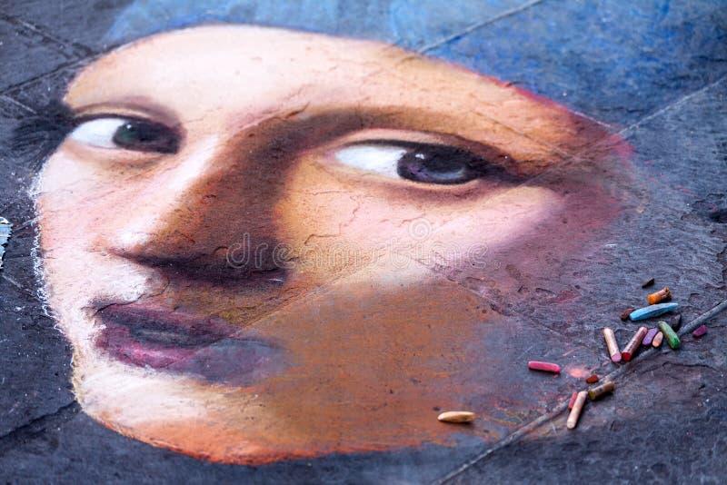 Arte de la calle - artista desconocido fotos de archivo libres de regalías