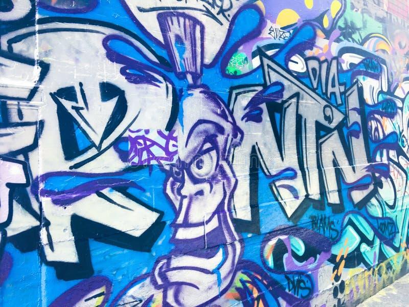 Arte de la calle de Melbourne foto de archivo libre de regalías