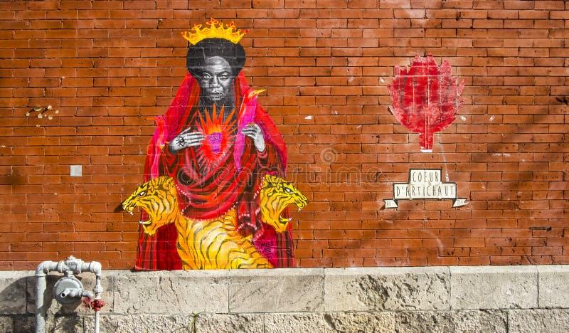 Arte de la calle en Montreal imágenes de archivo libres de regalías