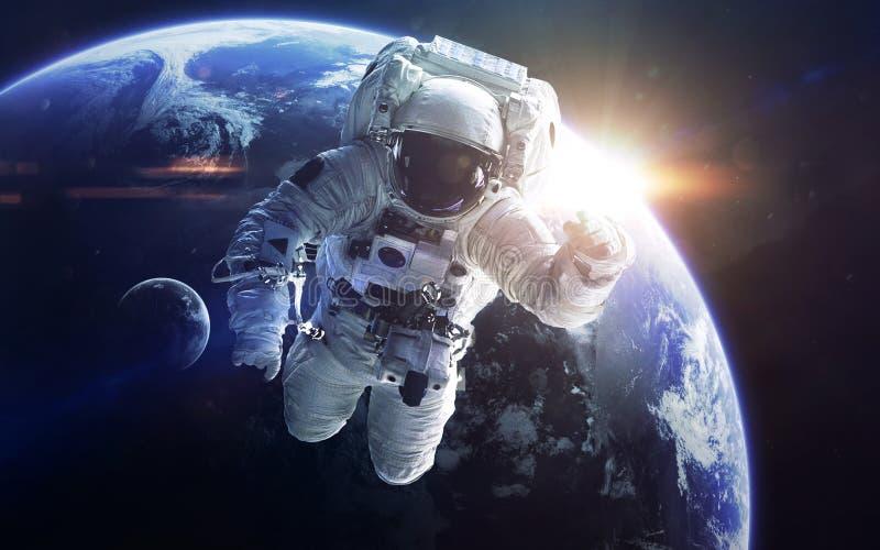 Arte de la ciencia ficción Belleza del espacio profundo Elementos de esta imagen equipados por la NASA foto de archivo libre de regalías