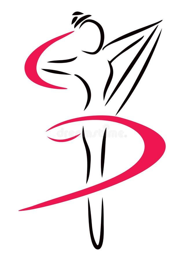 Arte de la danza stock de ilustración