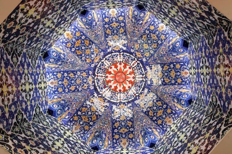 Arte de la decoración de la mezquita fotos de archivo