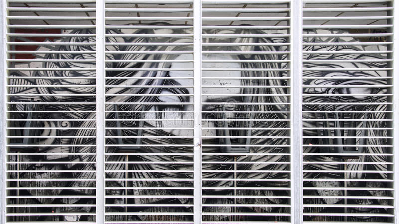 Arte de la pared fotografía de archivo libre de regalías
