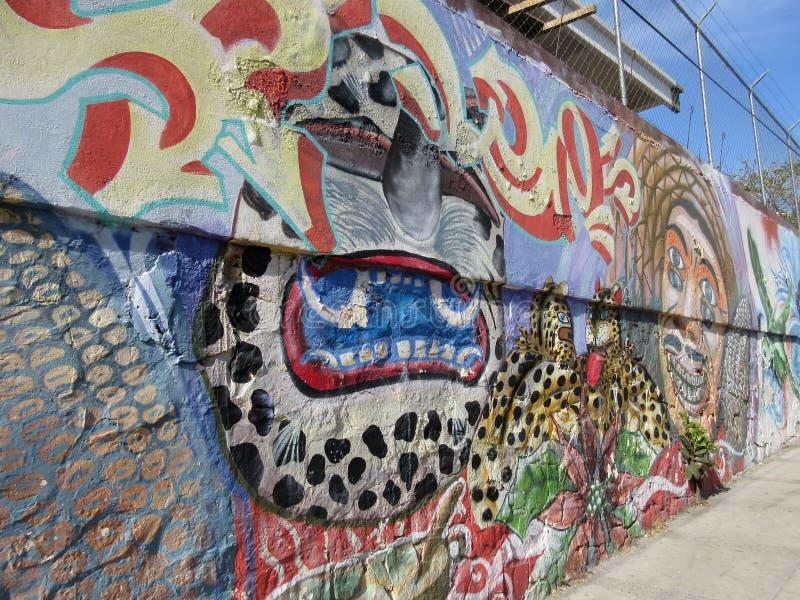 Arte de la pintada en Chilpancingo México fotos de archivo libres de regalías