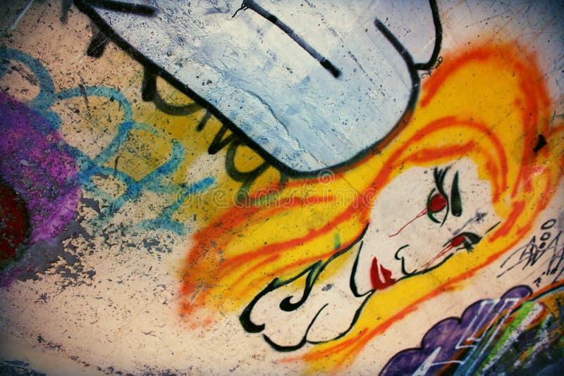 Arte de la pintada - Inverness foto de archivo libre de regalías