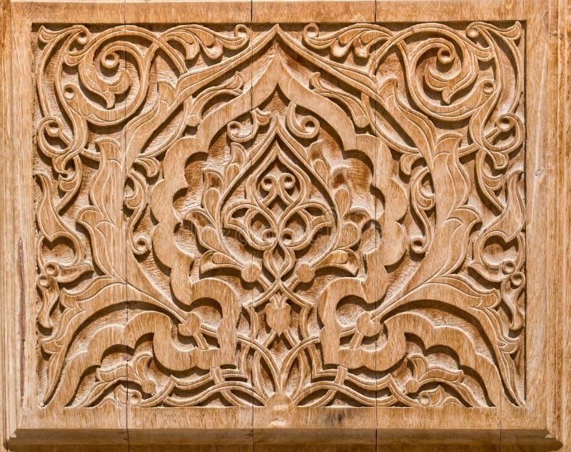 Arte de la talla de madera. foto de archivo