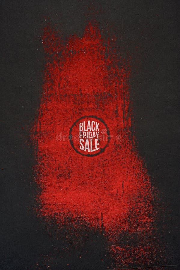 Arte de la venta de Black Friday ilustración del vector