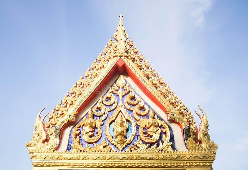 Arte de Lanna tailandês na província de Pattani fotografia de stock