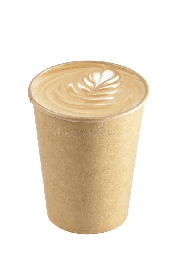 Arte de Latte del Cappuccino fotos de archivo libres de regalías
