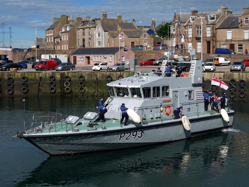 Arte de patrulla del guardabosques del HMS foto de archivo