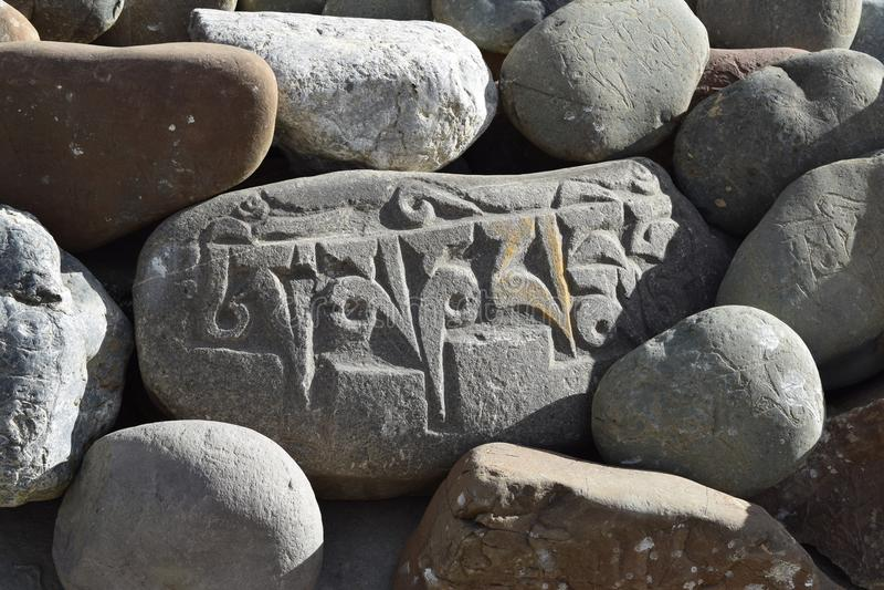 Arte de pedra foto de stock