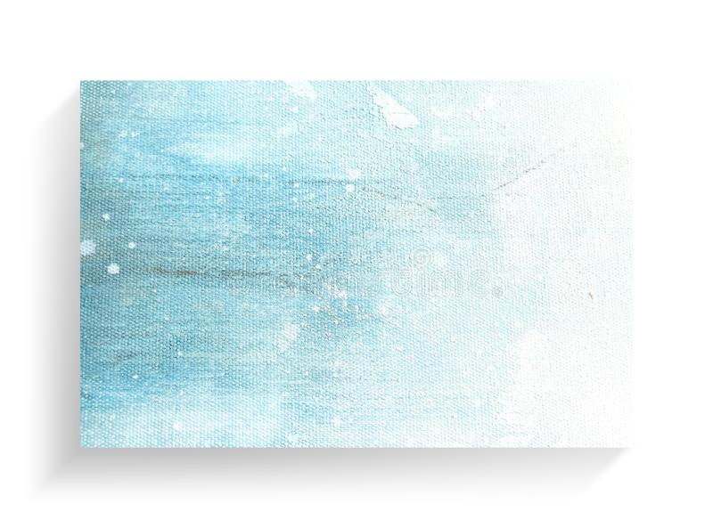 Arte de pintura colorido del extracto en fondo de la textura de la lona Primer imágenes de archivo libres de regalías