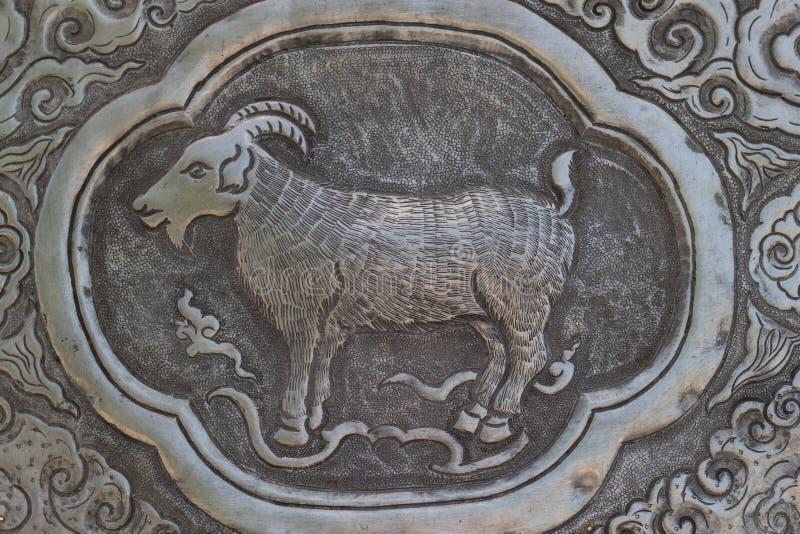 Arte de talla de plata del estilo tailandés en la pared del templo, Wat Srisuphan, Ch imagenes de archivo