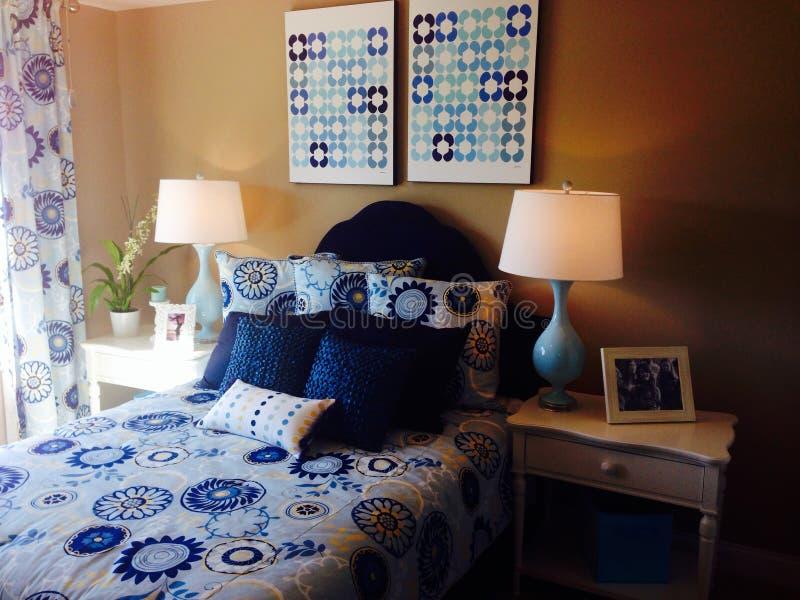 Arte decorativo para el dormitorio fotos de archivo