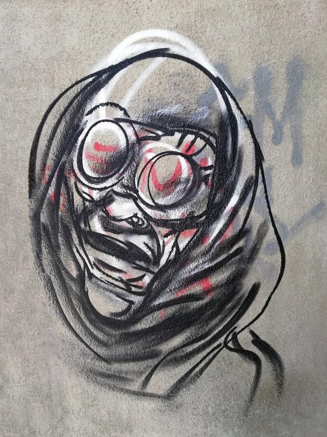 Arte dei graffiti, Bucarest, Romania immagine stock libera da diritti