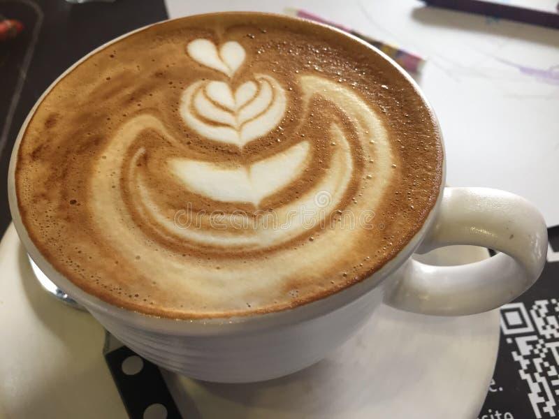 Arte del caffè immagine stock