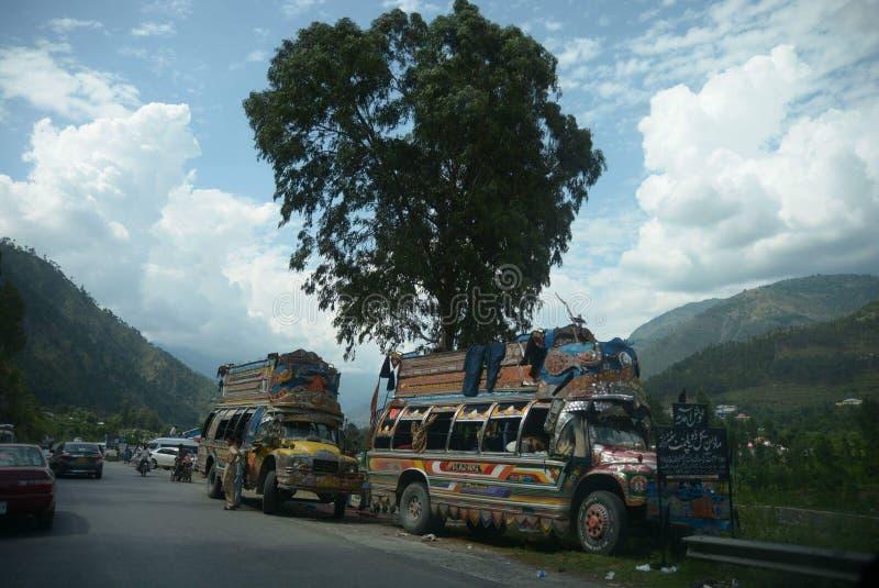 Arte del camion fotografia stock