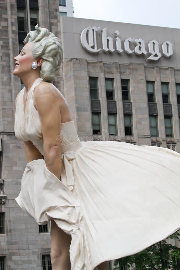 Arte del Chicago fotografie stock libere da diritti