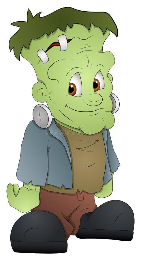 Frankenstein - Personaje De Dibujos Animados - Ejemplo Del Vector ...