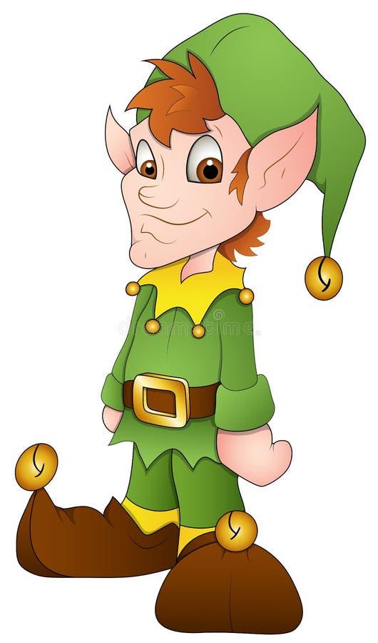Duendes De La Navidad - Personaje De Dibujos Animados
