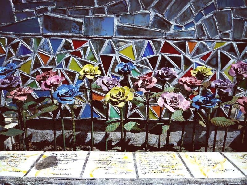 Arte del fiore del Faux fotografia stock