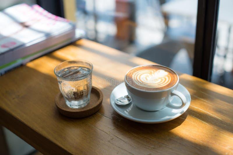 Arte del Latte fotografia stock
