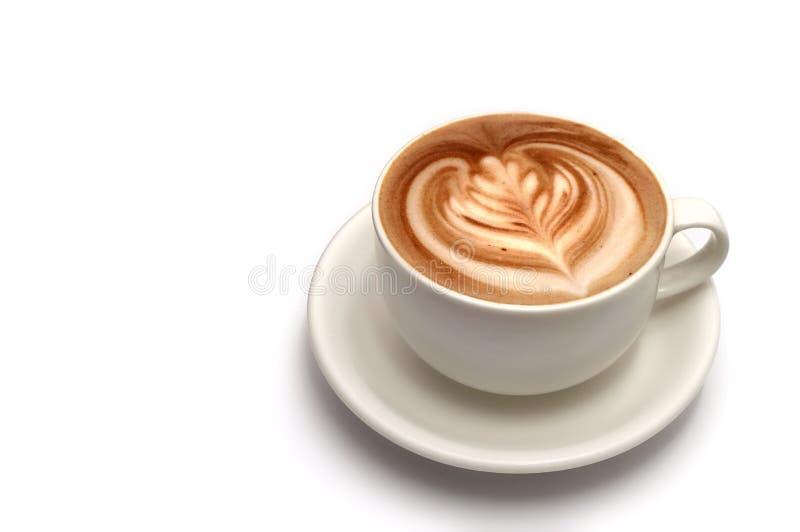 Arte del latte del caffè fotografie stock libere da diritti