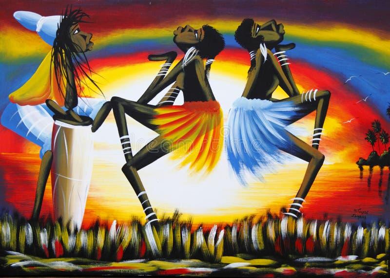 Arte del local de Jamaica el Caribe imagen de archivo