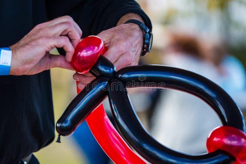 Arte del pallone fotografia stock libera da diritti