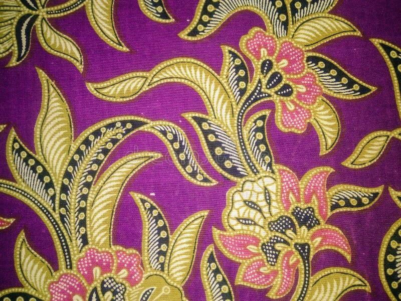 Arte del tessuto del batik fotografie stock
