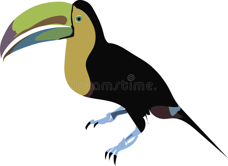 Arte del vector del vector del pájaro fotos de archivo