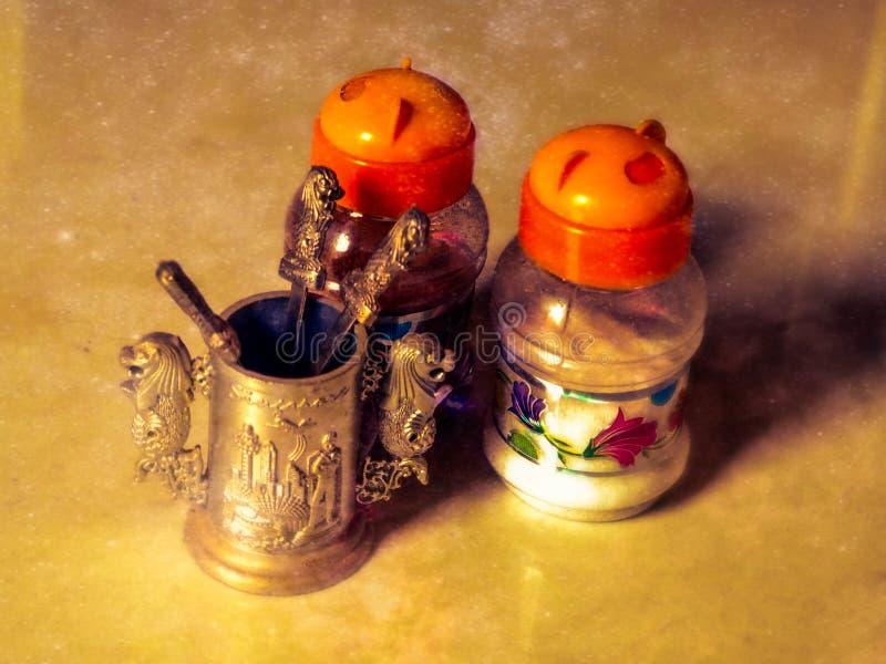 Arte della bottiglia immagine stock