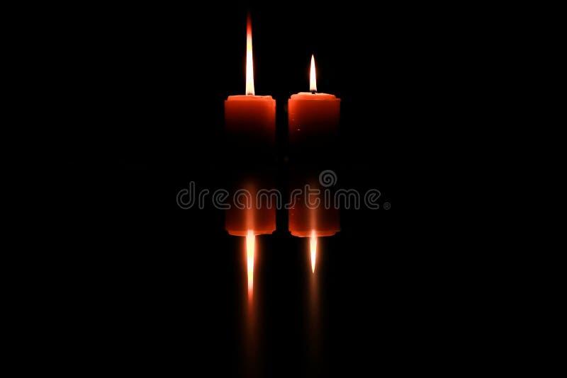 Arte della candela fotografia stock libera da diritti