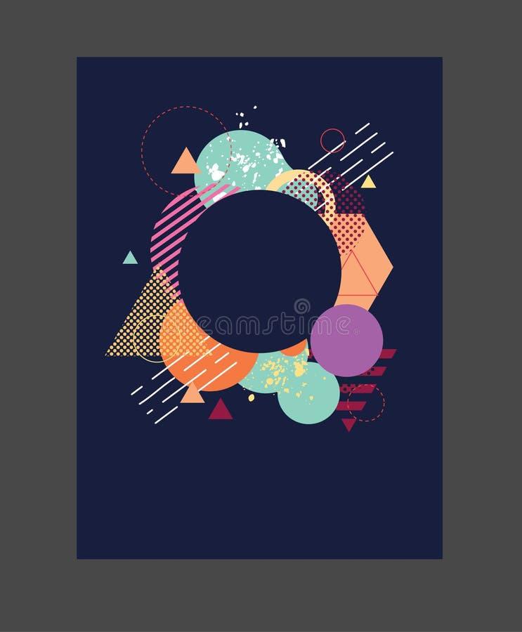 Arte della geometria immagini stock