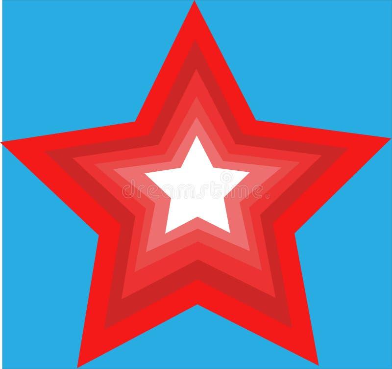 Arte della stella immagini stock