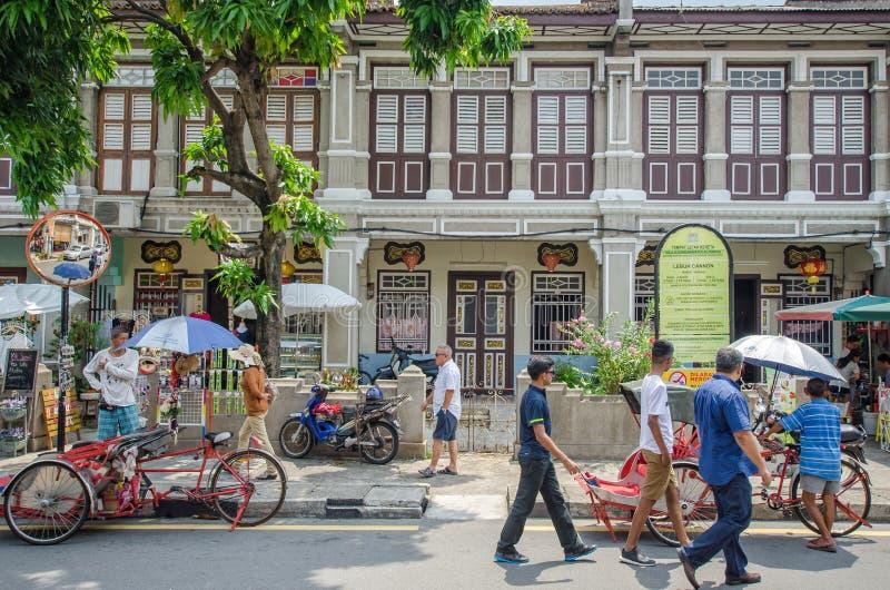 Download Arte Della Via A Georgetown, Penang Fotografia Editoriale - Immagine di george, malaysia: 56877671