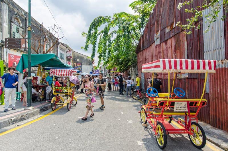 Download Arte Della Via A Georgetown, Penang Immagine Stock Editoriale - Immagine di decorazione, georgetown: 56878164
