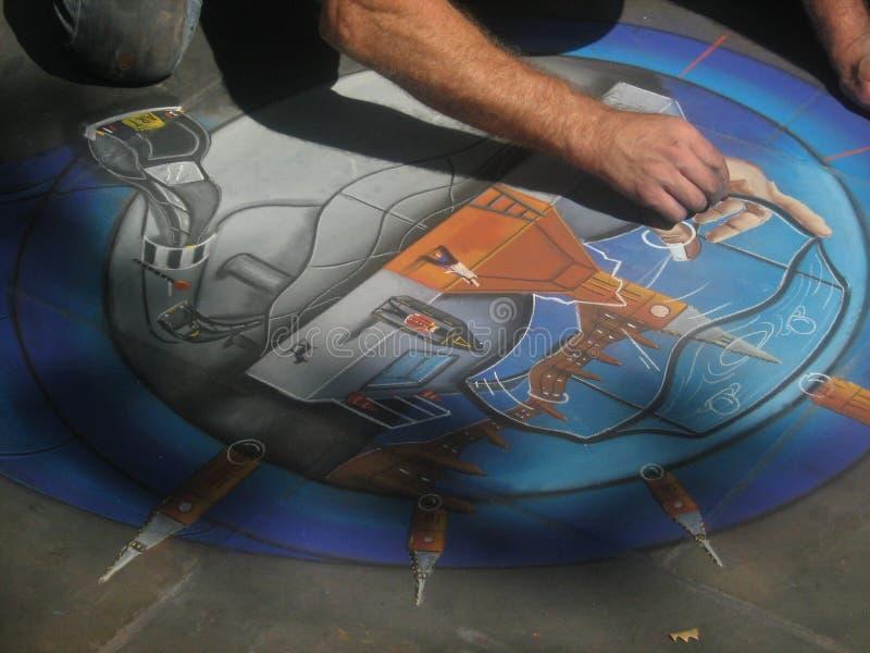Arte della via a Londra immagini stock libere da diritti